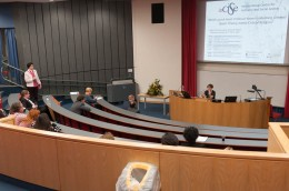 Question time after the Keynote by Professor Goldenberg
